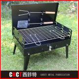 Por encargo de acero inoxidable 304 316 parrilla de barbacoa de carbón al aire libre barbacoa