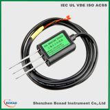 RS485 4-20mA medidor de humedad de temperatura del suelo para la prueba de contenido volumétrico
