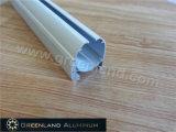 Roman Blind HoofddieSpoor van het Profiel van het Aluminium wordt gemaakt