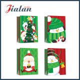 Напечатанная логосом покупка подарка рождества пакуя дешевый изготовленный на заказ бумажный мешок