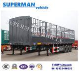 販売のための頑丈な半倉庫のサイドウォールの貨物トレーラー