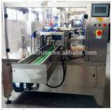 Grampeamento da Ventilador-Forma e unidade de máquina automáticos do empacotamento para doces