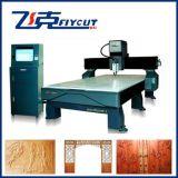 Máquina de gravura de mármore de pedra de madeira do CNC do granito da fonte da fábrica