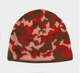 Sombrero colorido de la gorrita tejida de Gesign Camo del invierno