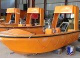 Barco salva-vidas aberto CCS/BV/ABS/Ec aprovado do preço da manufatura