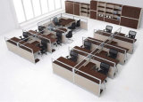 10 Persons (SZ-WST642)のための高品質Melamine Office Workstation Partition
