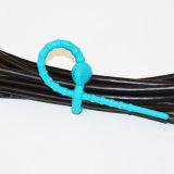 Los lazos de uso múltiple coloridos del silicón Multi-Utilizan el lazo elegante