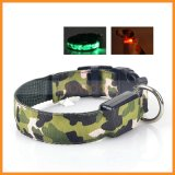 LED Light Glows Puppy Dog Cat Camouflage Safety Walking Collar Necklace für Dogs