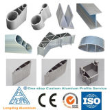 Extrusões de alumínio feitas sob encomenda das extrusora de alumínio