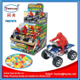 Stuk speelgoed het Met fouten van de Auto van het Stuk speelgoed van het Jonge geitje van de Auto van het strand met Suikergoed