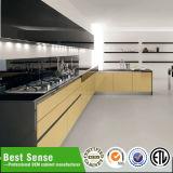 Umwelt Holz Hochglanz UV-Küche-Kabinett