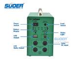 Fonte de alimentação solar portátil do usuário Home de Suoer 12V 7ah com luz do diodo emissor de luz (ST-A02)