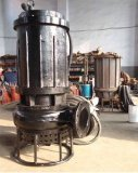Msq Tauchens-Mörtel-Pumpe für Koaxialarbeit oder Sand mit Wasser-Übertragung