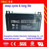 Batterie profonde de la batterie 12V 120ah SMF de cycle de stockage