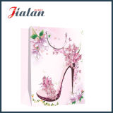 Sac de papier de cadeau de High-Heeled Sandal Hand Shopping de mode de Madame