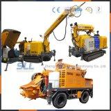 Konkrete Sprühmaschine verwendet für den Tunnelbau von FahrzeugShotcrete