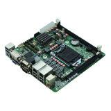 Intel LGA1155 H61 verdoppeln LAN Miniitx-industrielles Motherboard 6 COM eingebettetes Mainboard