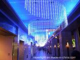 妖精のクリスマスの装飾は党LED滝ライトを祝う