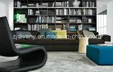 Sofà moderno della casa del sofà delle sedi del cuoio bianco 3 impostato (D-63-D)