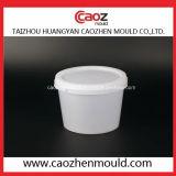 普及したプラスチック白いバケツの注入型