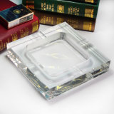 Het uitstekende Asbakje van de Sigaar van het Glas van het Kristal van Ontwerpen (KS13048)