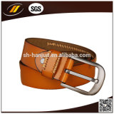 Пояс людей способа кожаный с пряжкой Pin (HJ3003)
