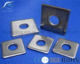 Rondelle carrée avec galvanisé