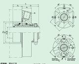 비표준 구조 Hqct를 가진 카트리지 기계적 밀봉