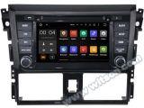 Автомобиль DVD GPS Android 5.1 Witson для Тойота Yaris 2014 с поддержкой интернета DVR ROM WiFi 3G набора микросхем 1080P 16g (A5752)