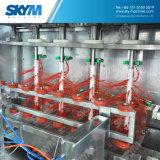 Maquinaria de relleno del agua de botella de 5 galones con el certificado del CE