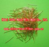 Micro fibra de aço com o cobre revestido