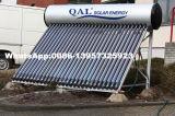 Chauffe-eau solaire pressurisé par contrat avec des caloducs
