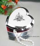 Caja de joyería de plata de encargo de China, caja determinada de la joyería, caja de joyería del metal