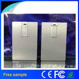 Kreditkarte USB-Blitz-Laufwerk des Aluminiumgeschäfts-8GB