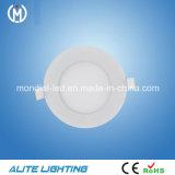 Embedded Ultra Thin redonda 12W LED Panel LED Downlight (APR61-12W)