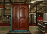 Puerta de entrada de la seguridad del metal del acero inoxidable de la alta calidad