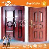 Edelstahl-Sicherheits-Türen Holz-Stahl gepanzerte Tür für Haus, Wohnung