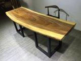 ホームまたはレストラン(SD-008)のための固体クルミの木製のダイニングテーブル