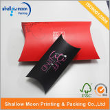 Оптовая коробка подушки печатание логоса (QYZ362)