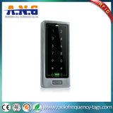 Control de acceso de acrílico del programa de lectura del panel de tacto del rasguño NFC RFID