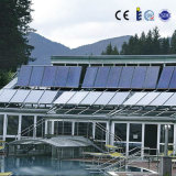 Sistema de calefacción solar de la piscina de la eficacia alta