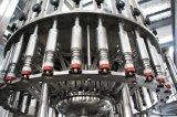 Cadena de producción de relleno en botella de llavero del agua de vector