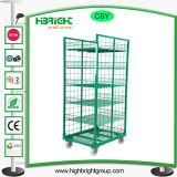 倉庫のためのプラスチック製ロール容器
