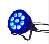 Attraktives RGBWA 5 in-1 LED 9X12W Waterproof LED PAR 64 Outdoor PAR Lighting