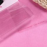Bolso claro del plástico OPP para el bolso de compras de la promoción OPP del regalo con la bolsa de plástico auta-adhesivo de Ties/OPP