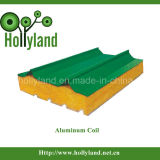 De met een laag bedekte & In reliëf gemaakte Rol van het Aluminium (ALC1101)