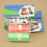 Sacchetto di plastica profumato di Poop del cane di Unscented del sacchetto residuo dell'animale domestico