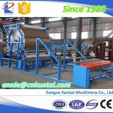 Kuntai EVA, espuma, cuero y máquina que lamina de la tela