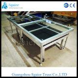Combinated Hartglas-Stufe, organisches Glas-Stufe, faltende Stufe
