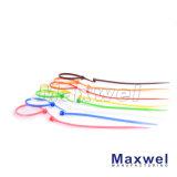 Serre-câble auto-bloquant en nylon d'ongle certifié par UL